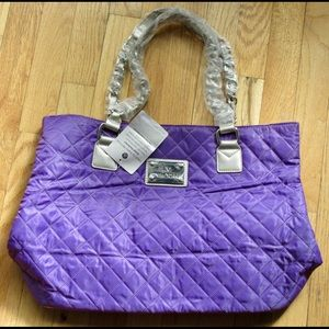 NWT JM WOMEMS OURLE QUILTED TOTE